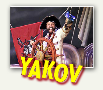 Yakov Smirnoff Pirates of the Black Tide